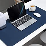 Mouse Pad Extended PU Leather, Tobeape Large Desk Mat,80x40cm Blotter Dual Sided Non Slip Water Resistant for Keyboard…