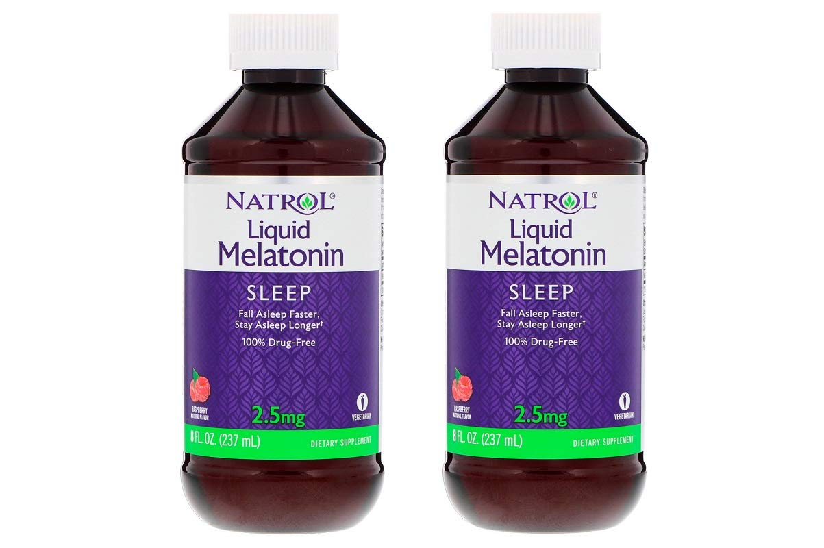 Amazon.com: Natrol Melatonin Liquid, 2.5mg, 8oz; with Cup (2 Pack): Health & Personal Care
