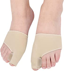 Bunion Corrector and Thumb Valgus Straightener, Aid Surgery Treatment Relief kit with Splint, Treat Pain in Toe and Inflammation, Analgesic Socks Fits Men and Women