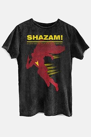 3b02e85928 Camiseta Shazam Name Oficial Feminina Marmorizada. Passe o mouse para  ampliar a imagem. DC Comics