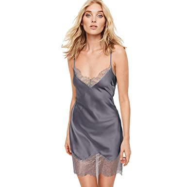 245ab79d57f2e Victoria's Secret Dream Angels Satin Slip Black Pearl XSmall at ...