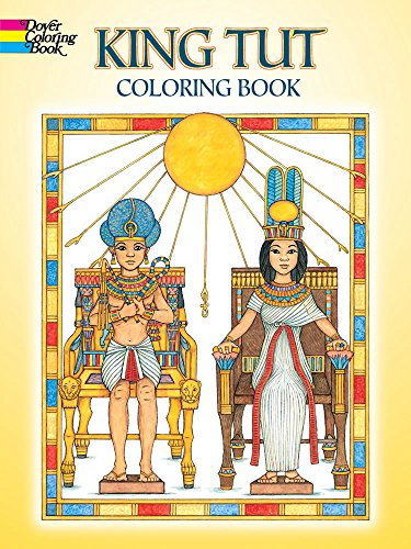 King Tut Coloring Book