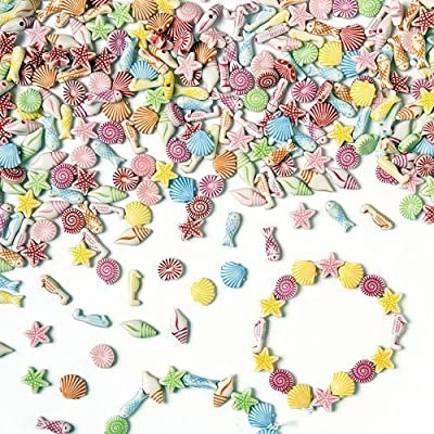 Baker Ross EV1532 Beads, 10mm, Assorted: Arts, Crafts & Sewing
