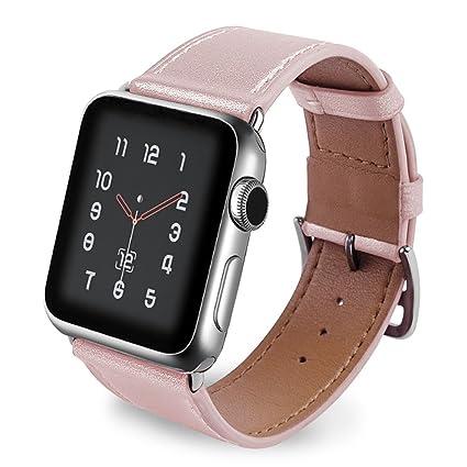 muy genial modelos de gran variedad encontrar mano de obra Correa para Apple Watch 40mm Piel, Correas iWatch 38mm Cuero ...