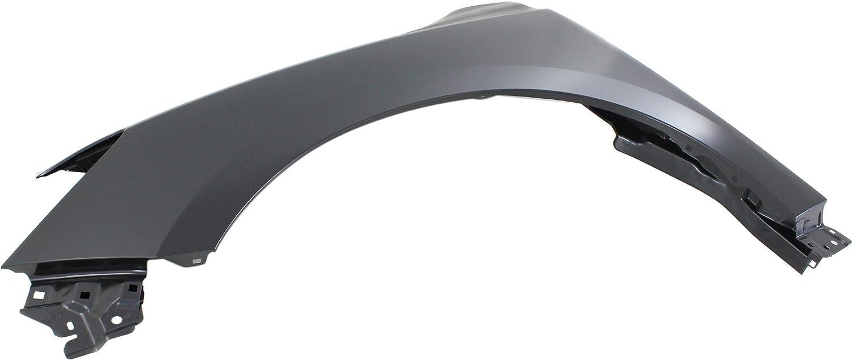 Front Fender Compatible with 2013-2017 Nissan Pathfinder Steel Driver Side
