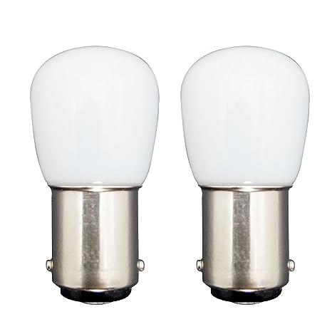 MZMing [2 Pack] Bombilla LED B15 1.5W en Lugar de 15W 6000K Lámpara