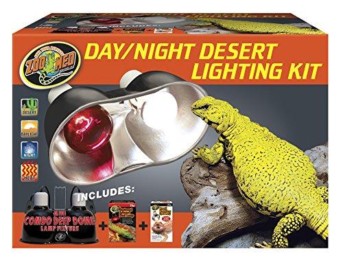 - Zoo Med Day/Night Desert Lighting Kit