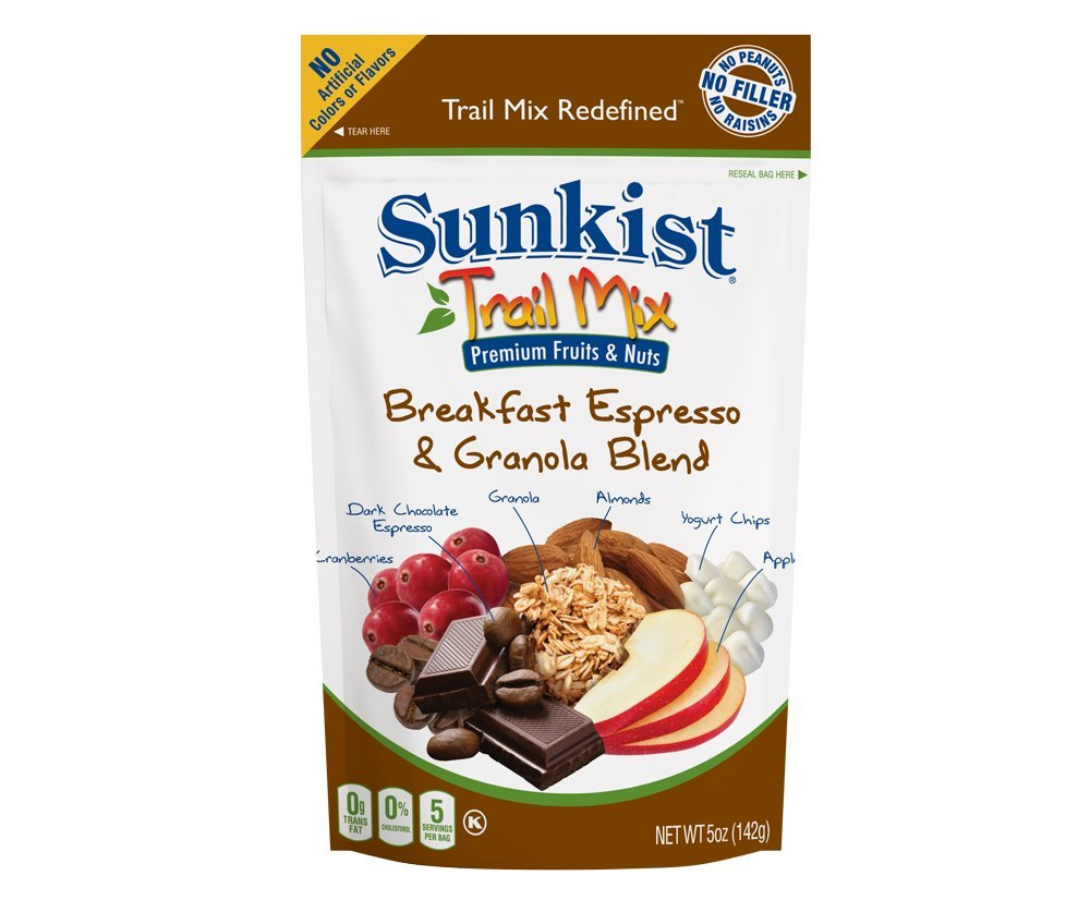 Variety Pack of Sunkist® Trail Mix Redefined™ (5 pack)