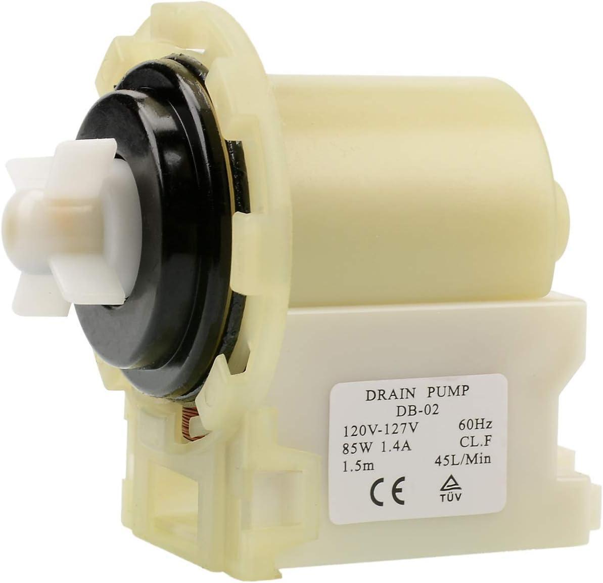 Drain Pump Motor Compatible Maytag Epic Z MHWZ400TQ02 Whirlpool Duet WFW8300SW02