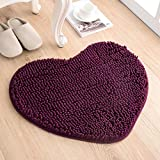 Love the door mat mat in the foyer bathroom and kitchen Ottomans bedroom carpet -5060cm Deep Purple