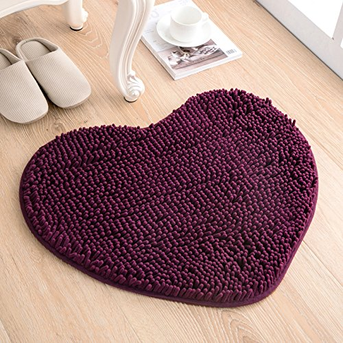 Love the door mat mat in the foyer bathroom and kitchen Ottomans bedroom carpet -5060cm Deep Purple by ZYZX