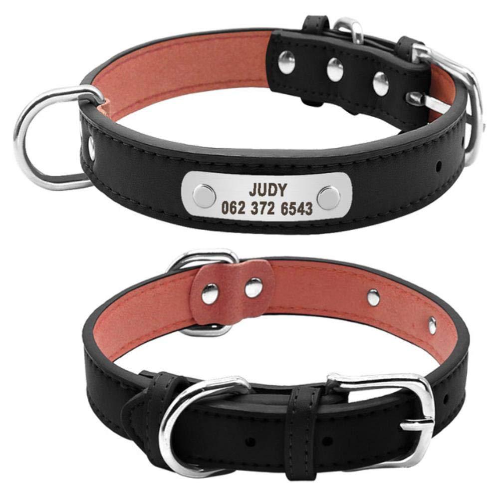 Collar Perro Ajustable Custome Grabado Collar De Perro De Mascota ...