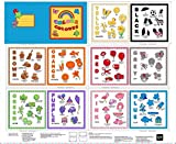 Sew & Go Colors Book Panel 36'' x 44'' Cotton Fabric by Quilting Treasures