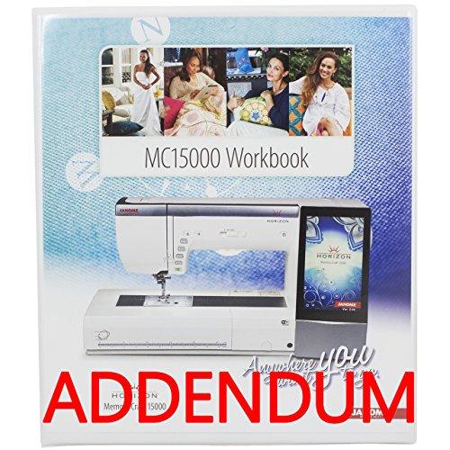 janome 15000 workbook - 2