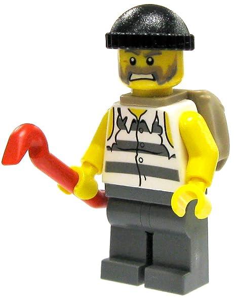 Lego Sack amazon com lego city crook with crowbar and loot sack