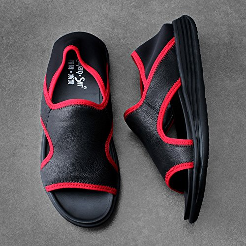Scarpe Colore UK5 Da Scarpe Spiaggia Rosso 5 Sportive Accogliente dimensioni Scarpe Antiscivolo Rosso Scarpe Maschili Casual EU38 Sandali Scarpe Da Estive Morbidi Uomo YQQ Ciabatte xqzBUwzv