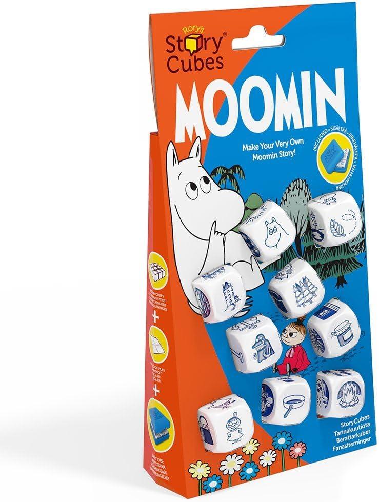 Rory's Story Cubes Moomin Cubos para contar historias , color/modelo surtido