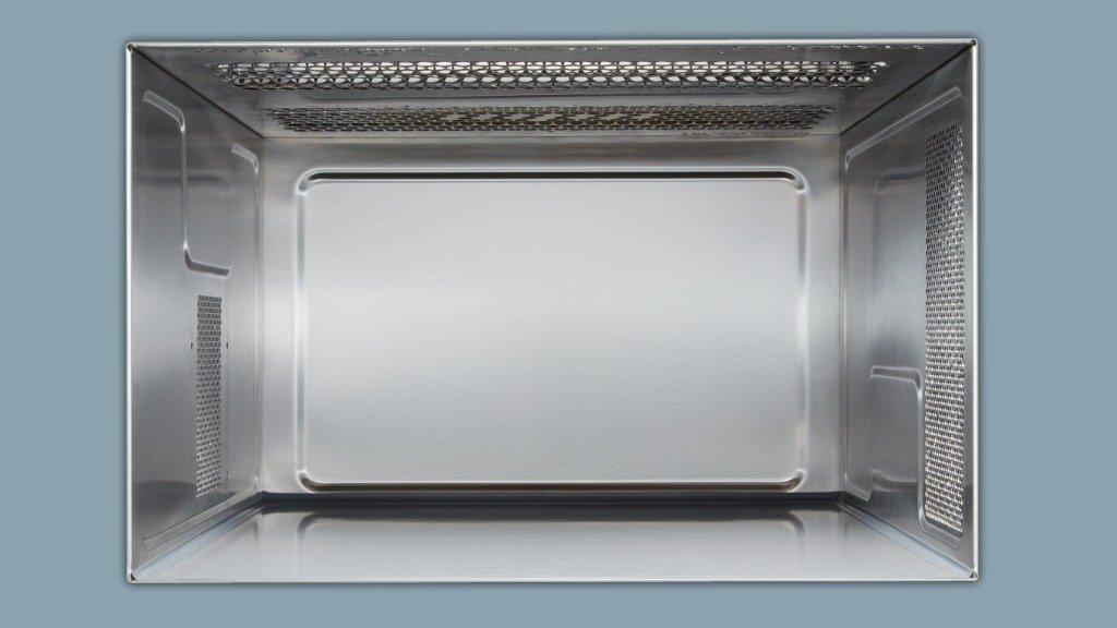 Siemens BF634LGW1 - Microondas, 1220 W, color blanco y gris: Amazon.es: Hogar