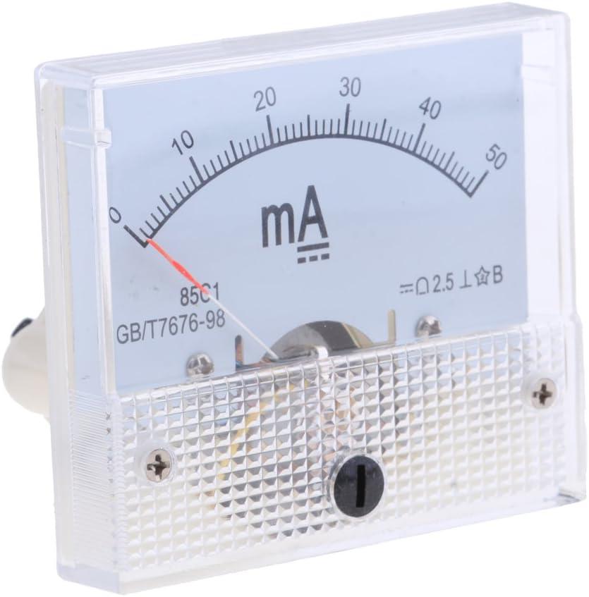 0-50mA Analog Panel Meter DC AMP Amperemeter