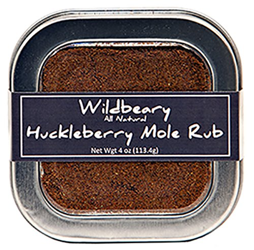 Huckleberry Mole Rub 4oz (Mole Shaver)