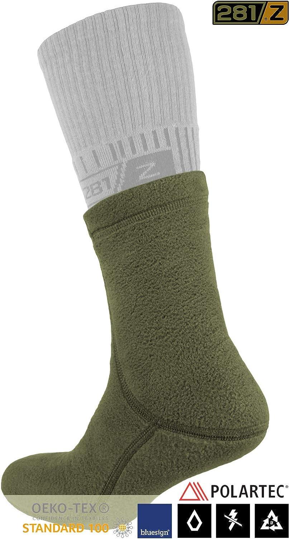 Outdoor Tactical Hiking Sport Polartec Fleece Winter Socks 281Z Military Warm Liners Boot Socks