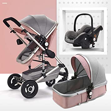 Buy Baby Stroller And Car Seat Combo For Newborn Girls Babyfond 3
