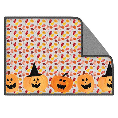 Toddy Gear Screen Cleaning Cloth for Cell Phones, Tablets and Electronic Screens, 5x7 inches, Happy Halloween, Multi (PD6064)