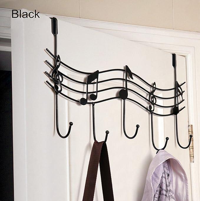 Amazon.com: TESOON - Perchero de metal decorativo para ...