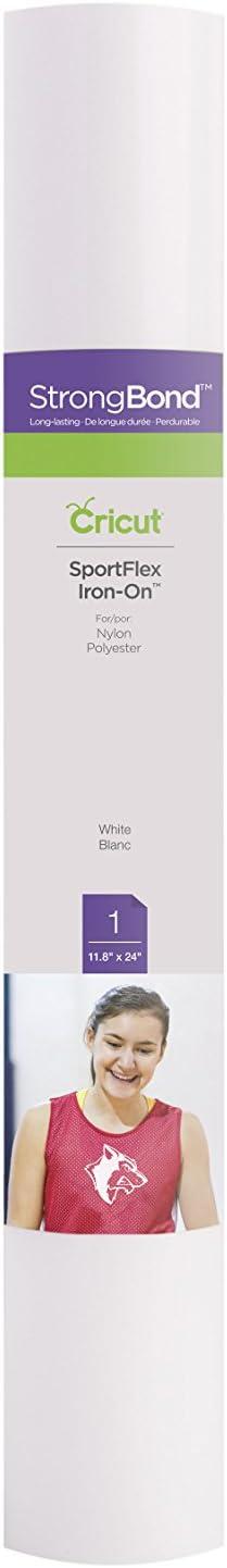 one size Cricut SPORTFLEX IRON ON WHITE Multicolour