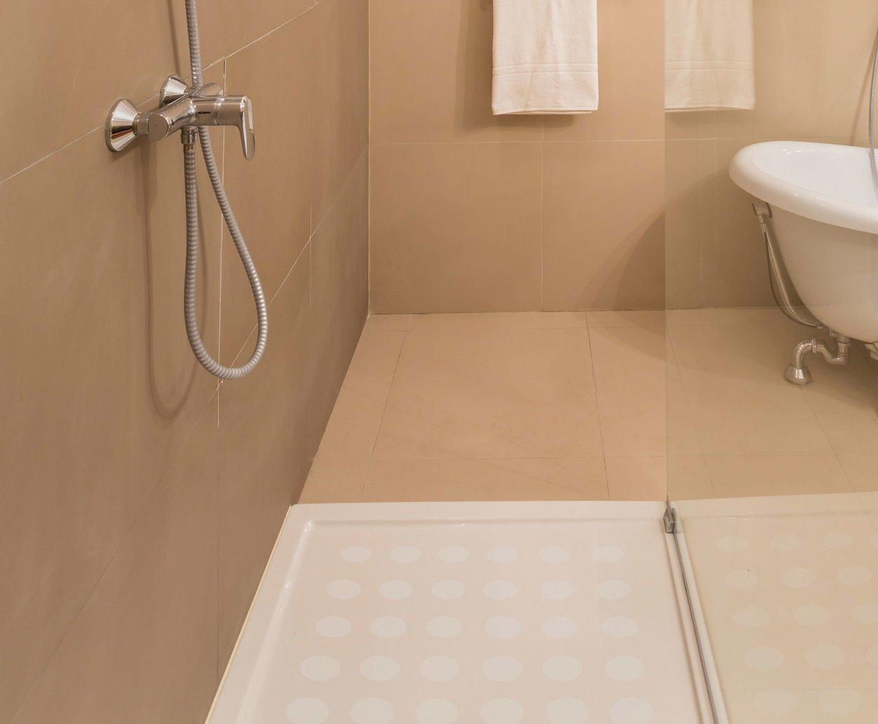 kara grip anti rutsch sticker dusche feine punkte 5 mal 8 stk also 40 stk a 5 cm anstatt duschmatte wanneneinlage oder badematte rutschfeste anti rutsch - Antirutschmatte Dusche Rund