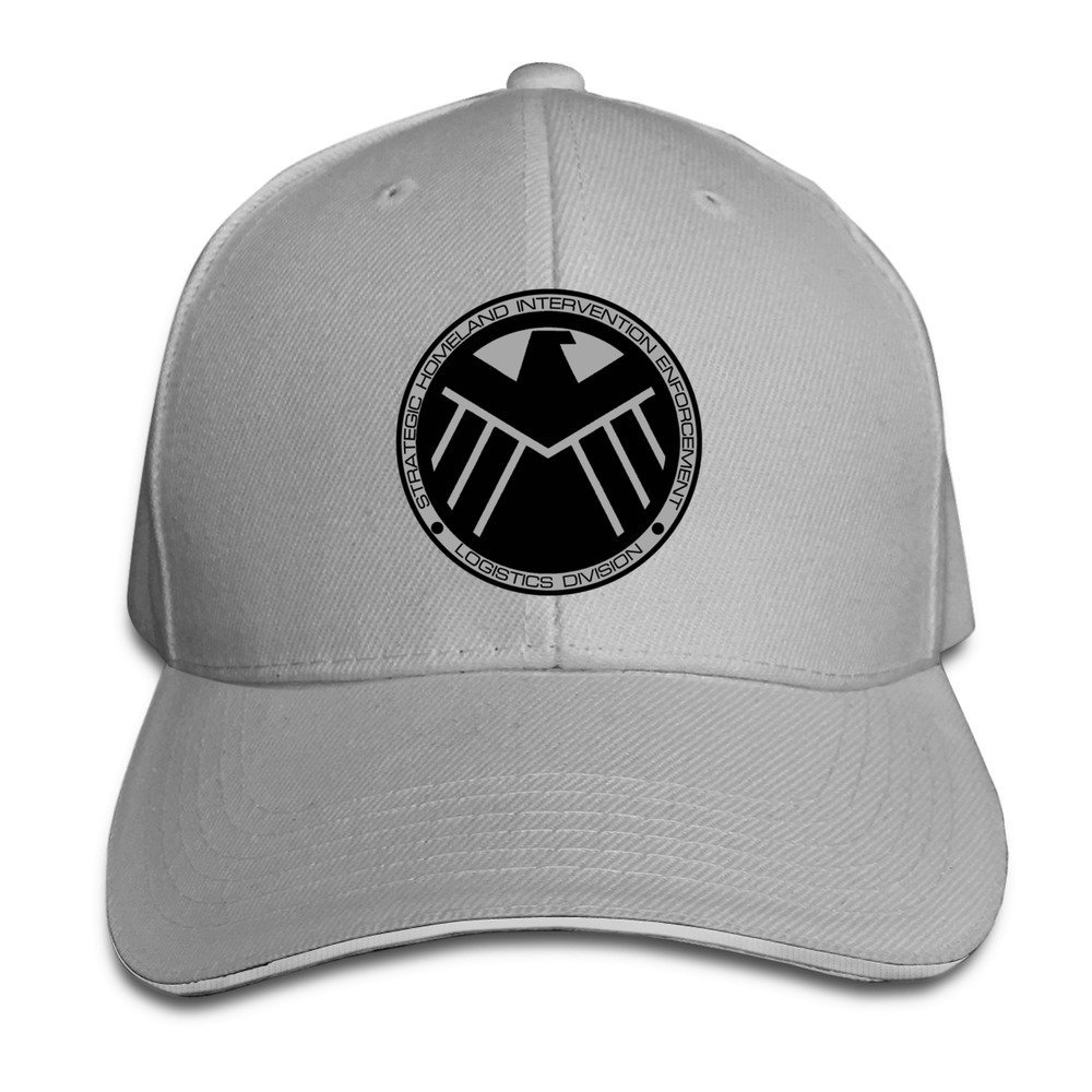 Sunny Fish6hh Unisex Adjustable Agents Of S.H.I.E.L.D. Baseball Caps Hat  One Size Ash Unknown Binding 20536dc4deb