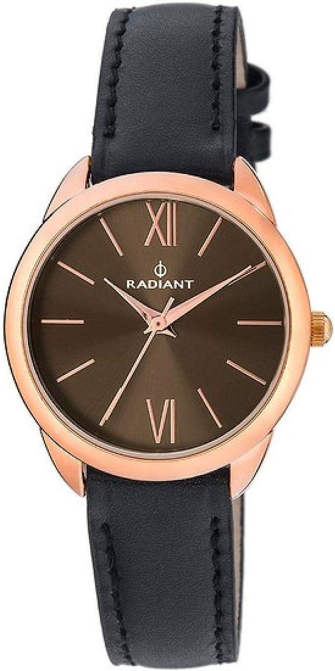 RADIANT Reloj Analógico para Mujer de Cuarzo con Correa en Piel RA419601