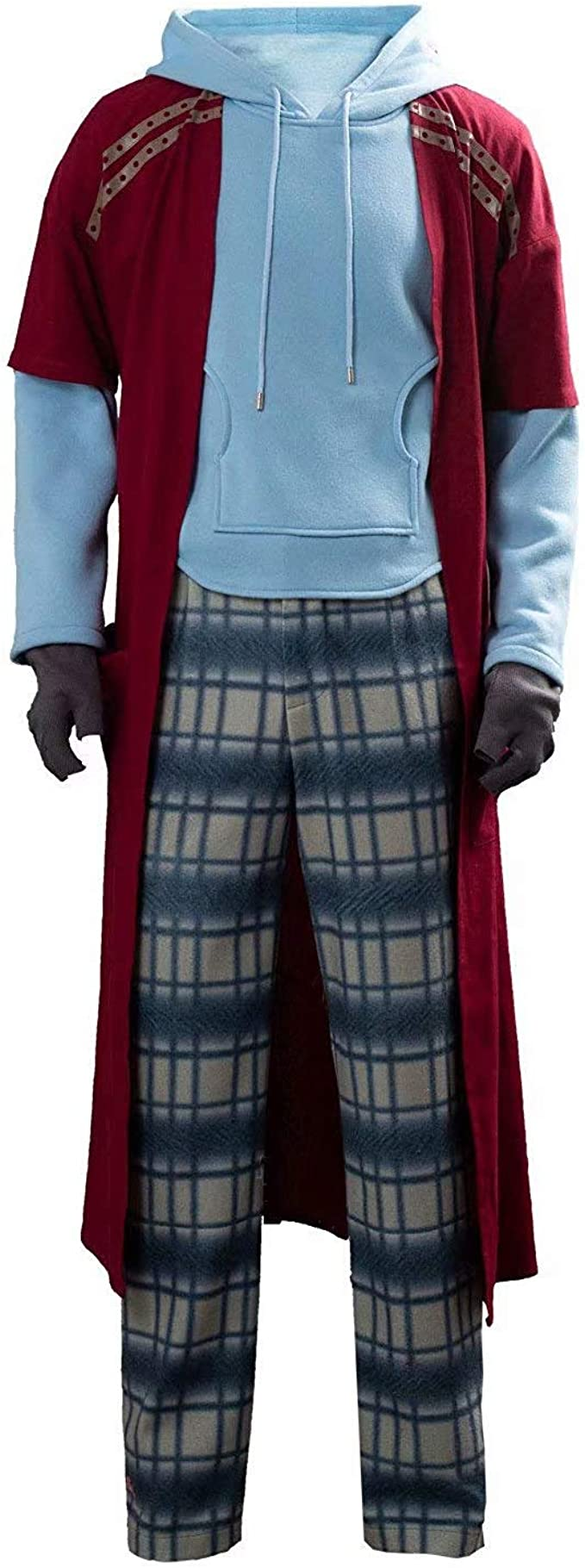 JinYiny Disfraz de Thor Gordo Traje de superhéroe de Halloween ...