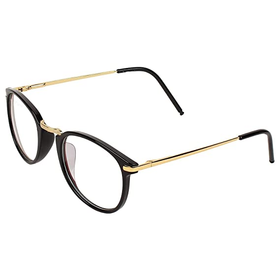 2d31f9c8f3f Dervin Golden Frame Anti-glare Round Sunglasses for Men   Women  Amazon.in   Clothing   Accessories