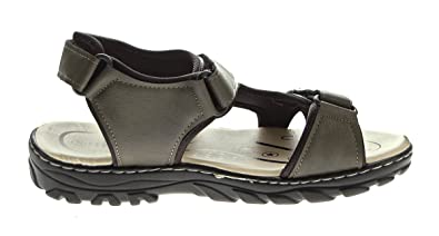 7e74de4650d8ca Herren Sandaletten Klettverschluss Halb Schuhe Pantoletten Sandalen Khaki Gr.  40 - 45  Amazon.de  Schuhe   Handtaschen