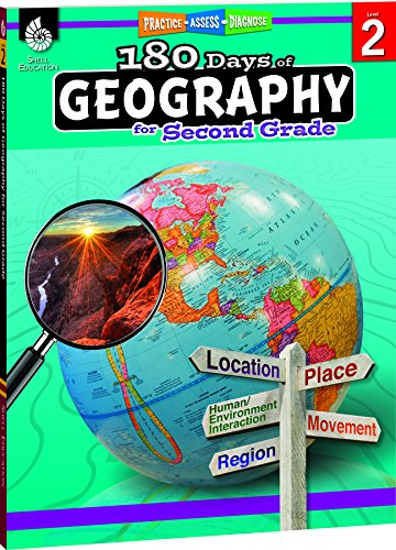 180 Days of Geography for Second Grade (180 Days of Practice)