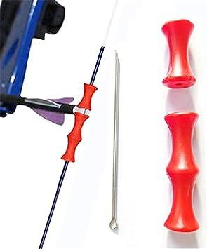 1Pcs Archery Guard Bowstring Finger Recurve Bow Release Silicon flecha Tab Good