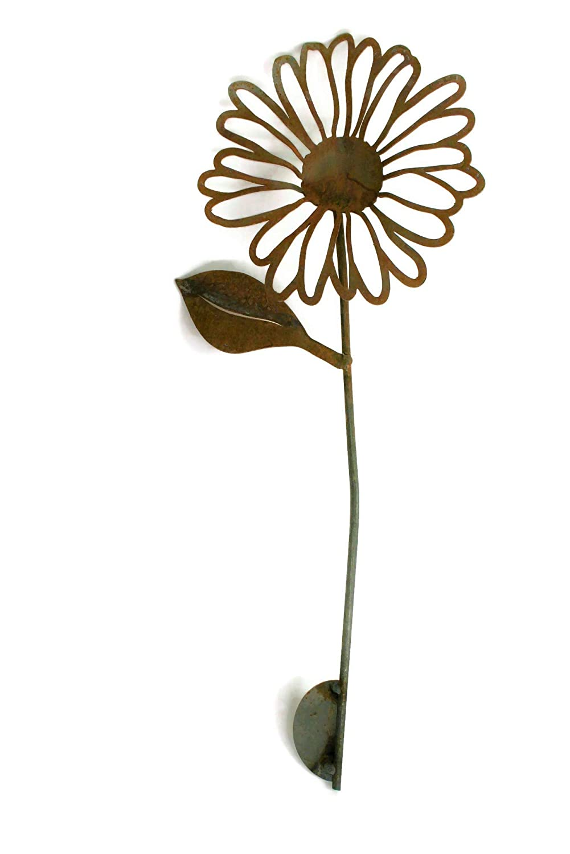 Jeweled Daisy Metal Garden Stake Decoration #3F50 97cm x 22cm