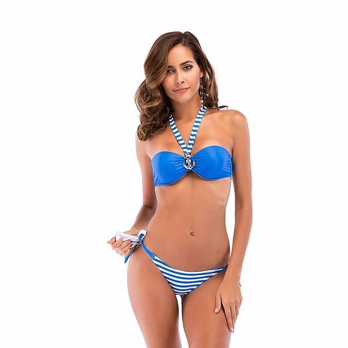 WBXZAL-Bikini Europeo Y Americano De Dos Piezas Traje De ...