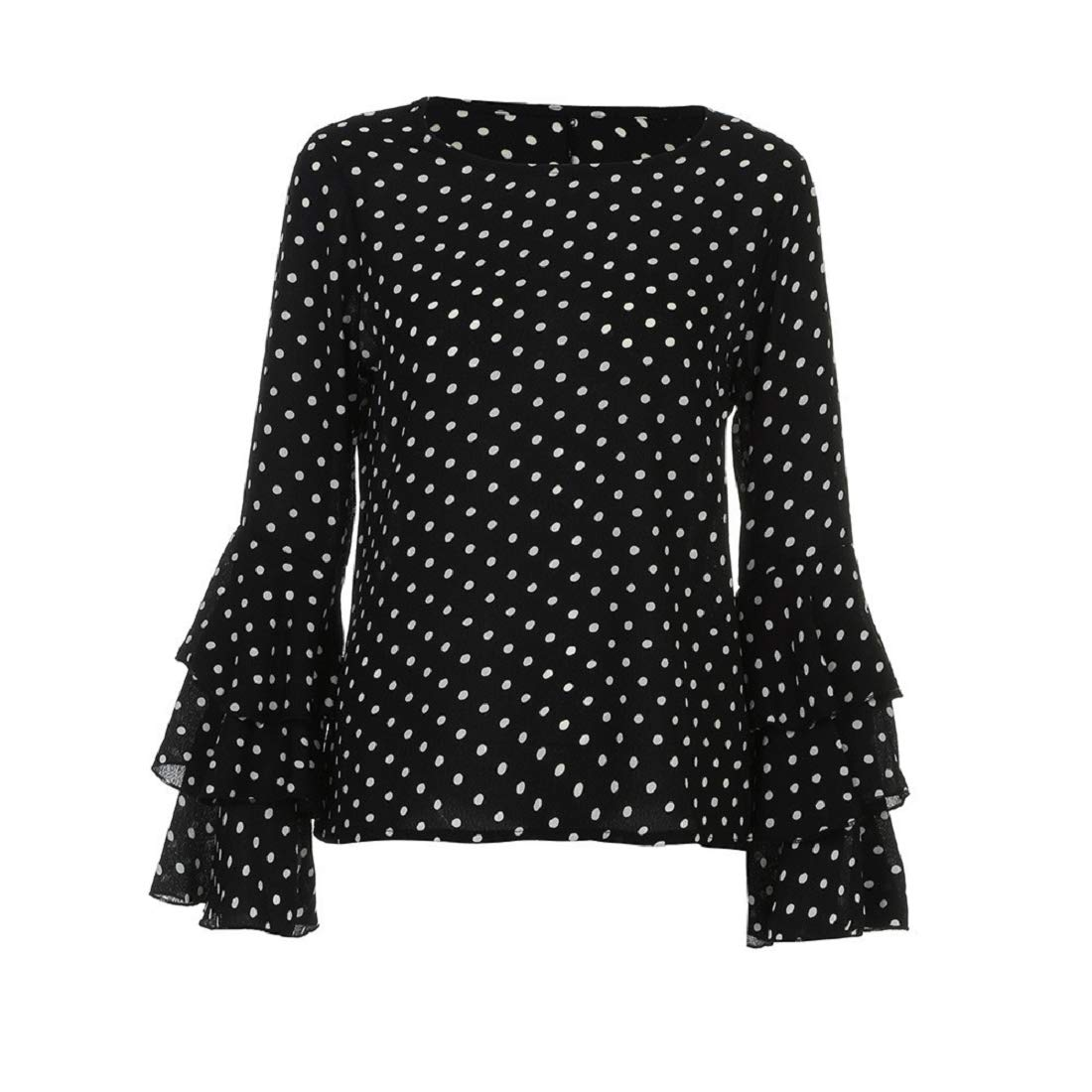 8b94d6ce1a88 GONKOMA Women Cold Shoulder Blouse Pullover Tops Casual Long Sleeve Splice  Shirt T Shirt at Amazon Women's Clothing store: