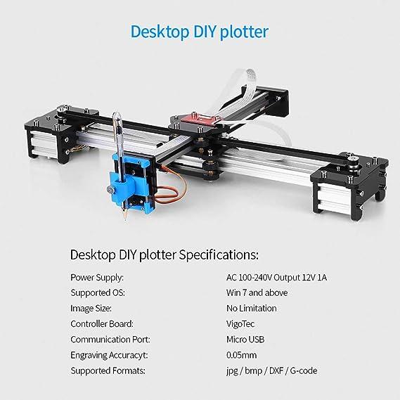 Escritorio DIY Montado XY Plotter Pluma Dibujo Robot Máquina de ...