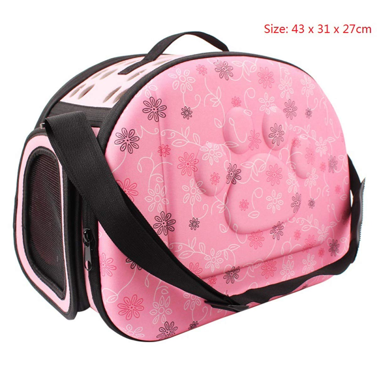 2 as picturePETFDH Travel Pet Dog Carrier Puppy Cat Carrying Outdoor Bags for Small Dogs Shoulder Bag Soft Pets Dog Kennel Pet Products 3 colors 06