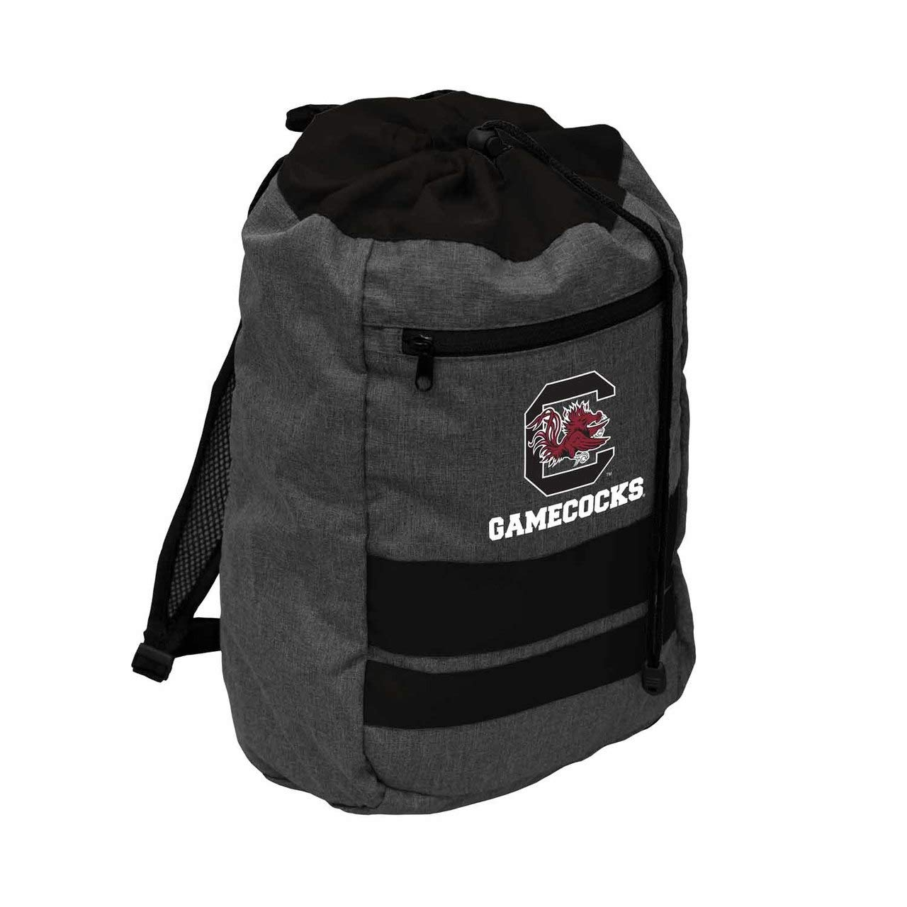 Logo South Carolina Gamecocks NCAA Journey Backsack - Black,