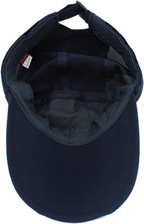 Unisexo Safari Cap con Protector de Cuello Anti UV Abatible Gorra de B/éisbol para Acampar al Aire Libre