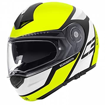 Schuberth C3 Pro Echo Amarillo Motocicleta Casco