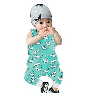 1040b1d0704ed Amazon.com: Feitengtd 2019 Infant Baby Boys Girls Cartoon Animal ...