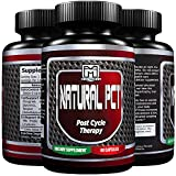 PREMIUM PCT - Natural Post Cycle Therapy Supplement | Liver support blend** | Testosterone support blend** | Estrogen blocker formula** | Advanced Natural Cycle Assist | 60 capsules by MEGATHOM