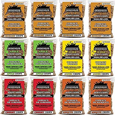 Smokehouse Products Assorted Flavor Chips, 12-Pack by Smokehouse