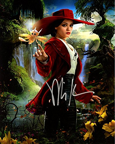 Mila Kunis OZ THE GREAT AND POWERFUL In Person Autogrphed - Kunis Mila Friends With