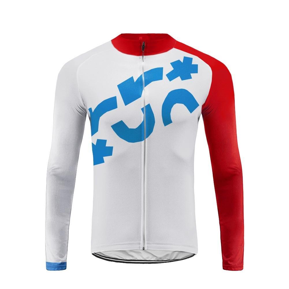 Uglyfrog Inverno Completo Magllia Ciclismo Manica Lunga da Uomo Termico Fleece Confortevole ZRMX02F